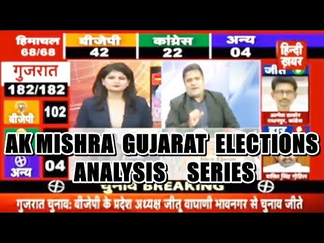 AK MISHRA STRATEGIC ANALYSIS ON GUJARAT ELECTIONS RESULTS