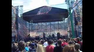 Выступление группы 7000 на Adrenalin FMX Rush 2012