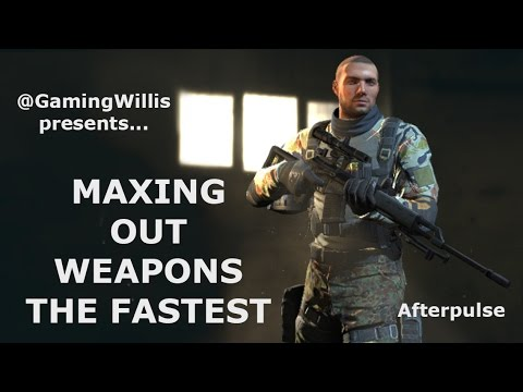 HOW TO MAX WEAPONS SO QUICKLY in Afterpulse