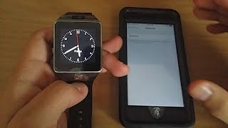 Does The DZ09 Smartwatch Work With iPhone 6?