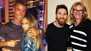 Gambar cover when celebrities meet their favourite football players