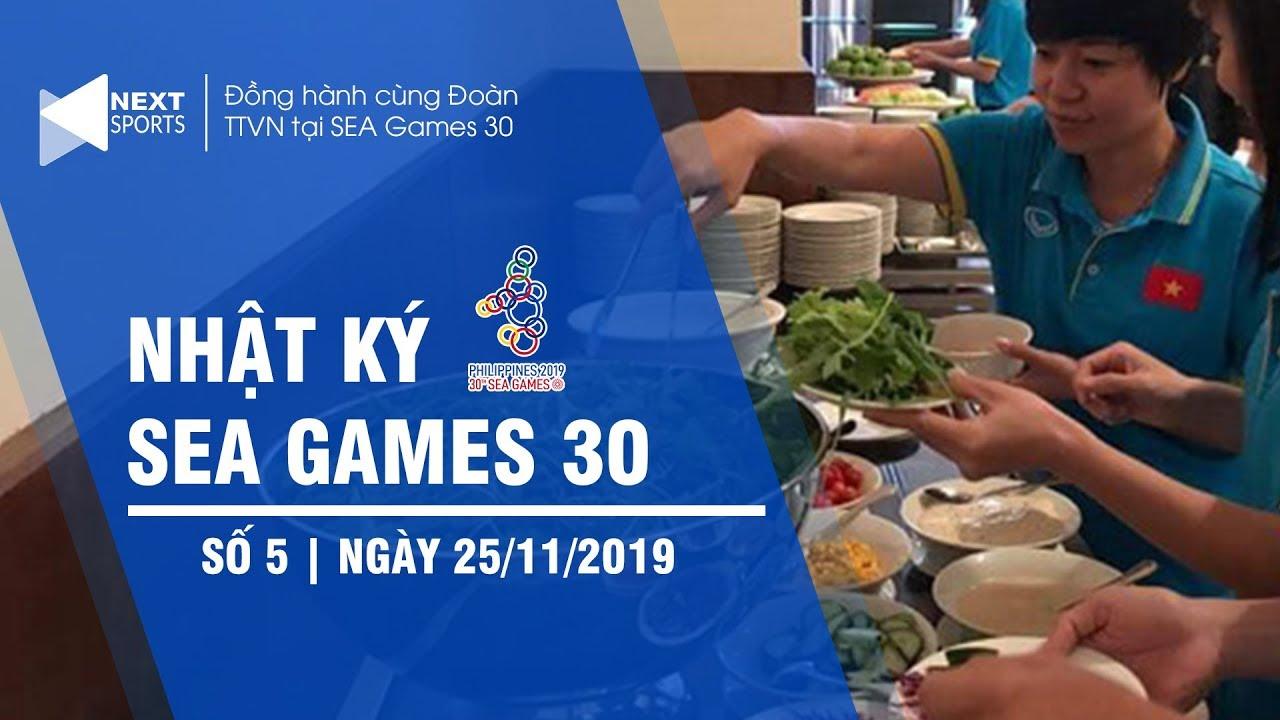 Nhật ký SEA Games 30 ngày 25/11 | Bữa ăn rớt nước mắt của ĐT nữ, U22 Việt Nam đại thắng Brunei