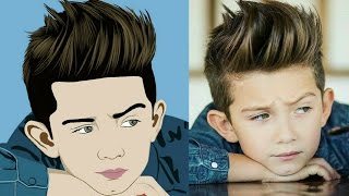 Vector Artwork Cartoon Image Editing Tutorial For Android Mobile | Emmu Editz