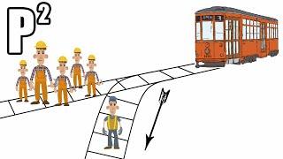 Morální dilema s tramvají - P²