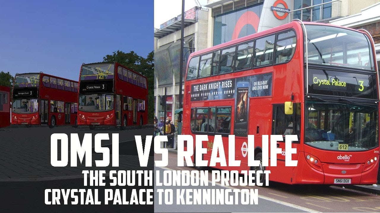 OMSI 2 vs Real Life - London Add-on: Route 3 | OfficialApplied