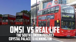 OMSI 2 vs Real Life - London Add-on: Route 3   OfficialApplied