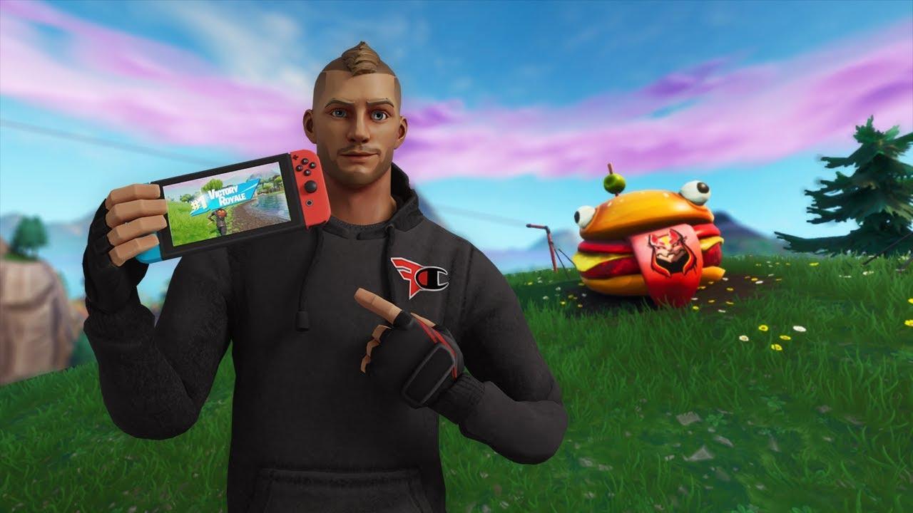 Nintendo Switch Pro On Fortnite Youtube