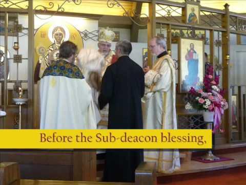 Melkite Church: The blessing of a Sub-deacon
