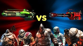 UNKILLED | Tesla Gun vs Minigun Gameplay