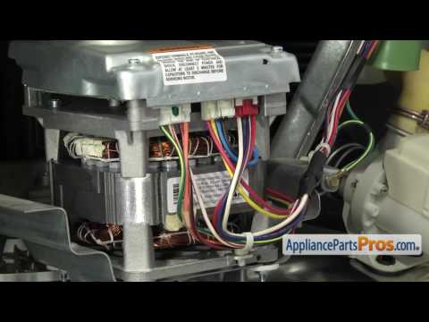 How To: GE Drive Motor WH20X10093 - YouTubeYouTube