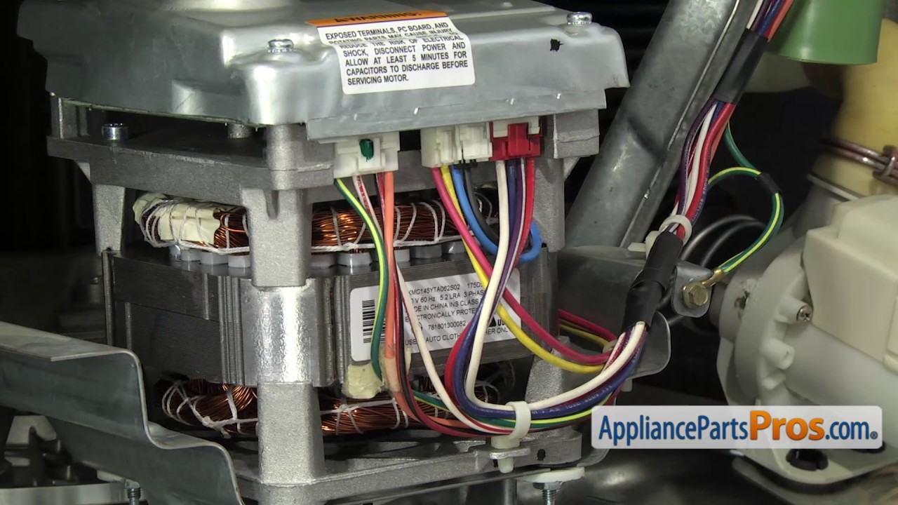 Washer Drive Motor (part #WH20X10093) - How To Replace