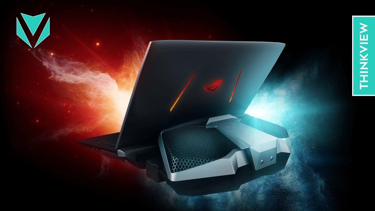 Laptop 160 triệu! Tản nhiệt khí và nước – ROG GX800VH | ThinkView