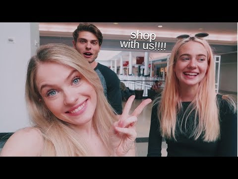 SHOP WITH US!!! | family vlog & try-on haul (Princess Polly)