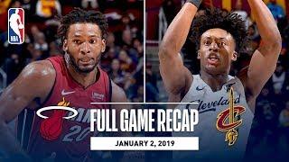 Full Game Recap: Heat vs Cavs | The Heat Splash 16 Triples