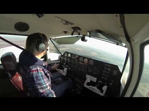 Piper Apache/Geronimo flight from KFCM to KSYN