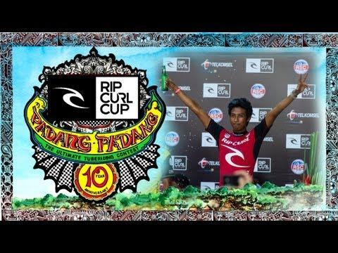 TRIALS - Rip Curl Cup Padang Padang 2013
