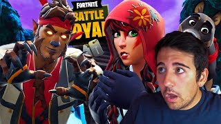 THE SECRET OF WEREWOLF !! REACTING TO FORTNITE PELICULAS - ElChurches