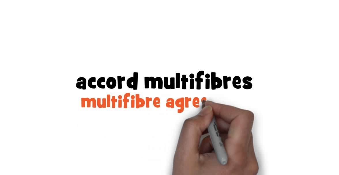 How To Write Multifibre Agreement In French Youtube