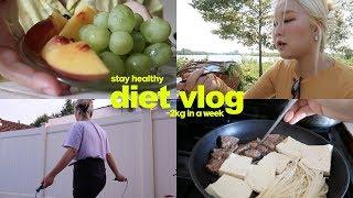 일주일 건강하게 먹어본 다이어트 브이로그(-2kg)?7…