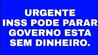 INSS PODE PARAR EM SETEMBRO BOLSONARO DIZ QUE GOVERNO ESTÁ SEM DINHEIRO.