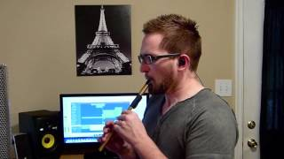 """Celtic Hymn"" on Tin Whistle in D--Original Composition"