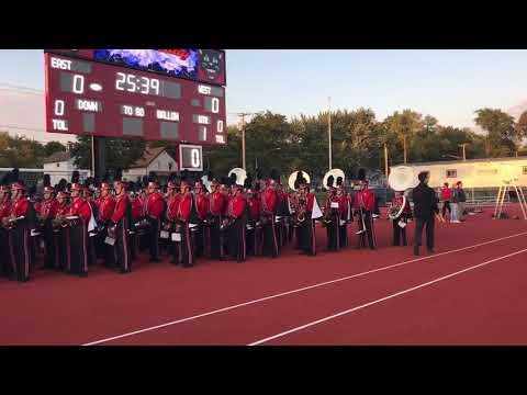 East Aurora High School Band Sept. 2017