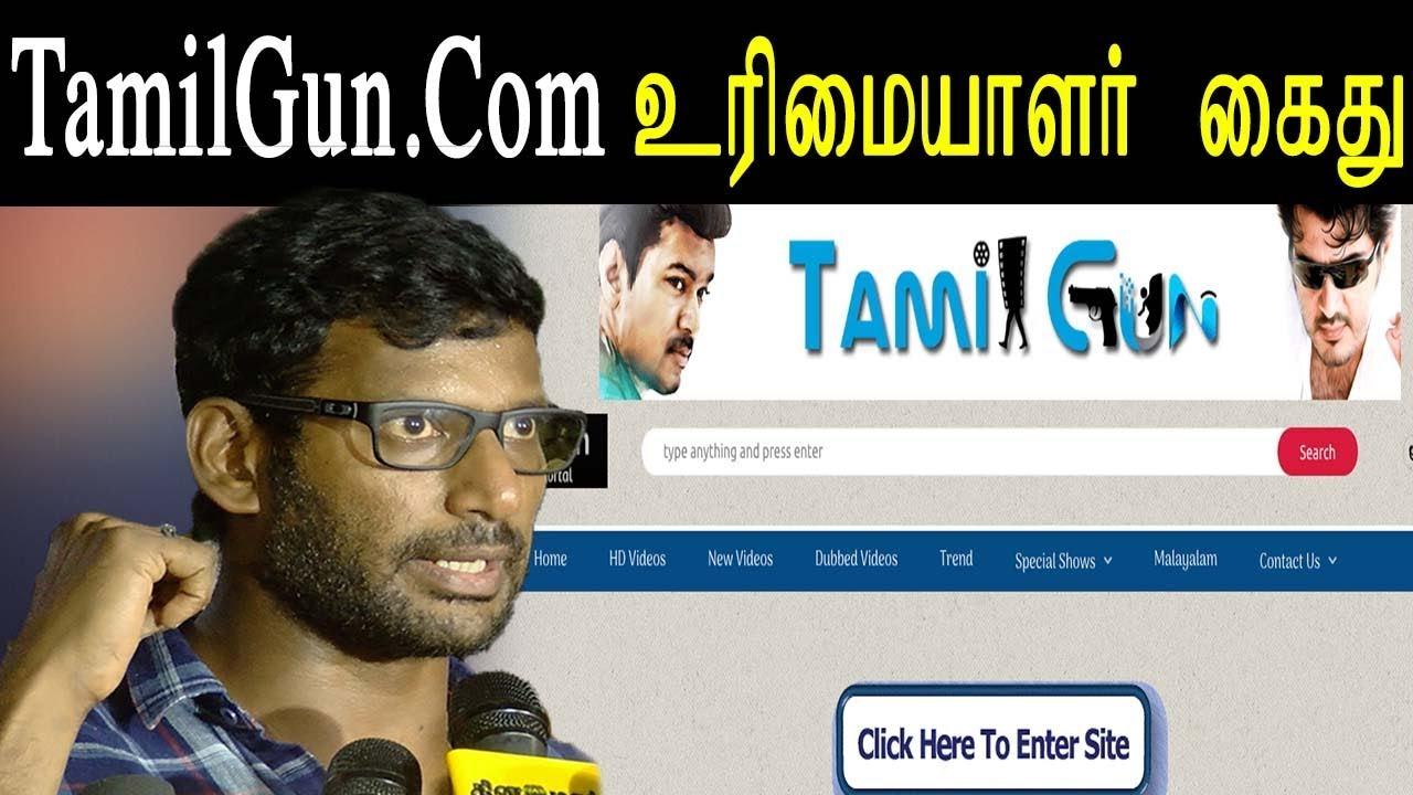 Kollywood News Vishal Help Cops To Catch Video Pirater Tamilgun Admin Arrested Tamil Live News Youtube