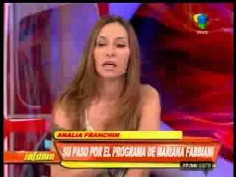 Analía Franchín: Me dijeron que Mariana Fabbiani pidió que me saquen del programa