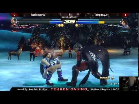 Tekken Casino Vegas 2014 - Cade Roberts vs King Rey.jr FT2