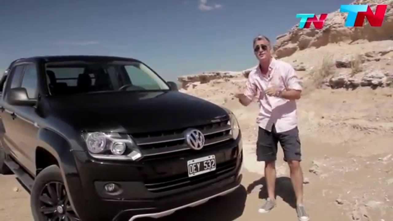 TN Autos con Matias Antico - Test Drive VW Amarok Dark ...
