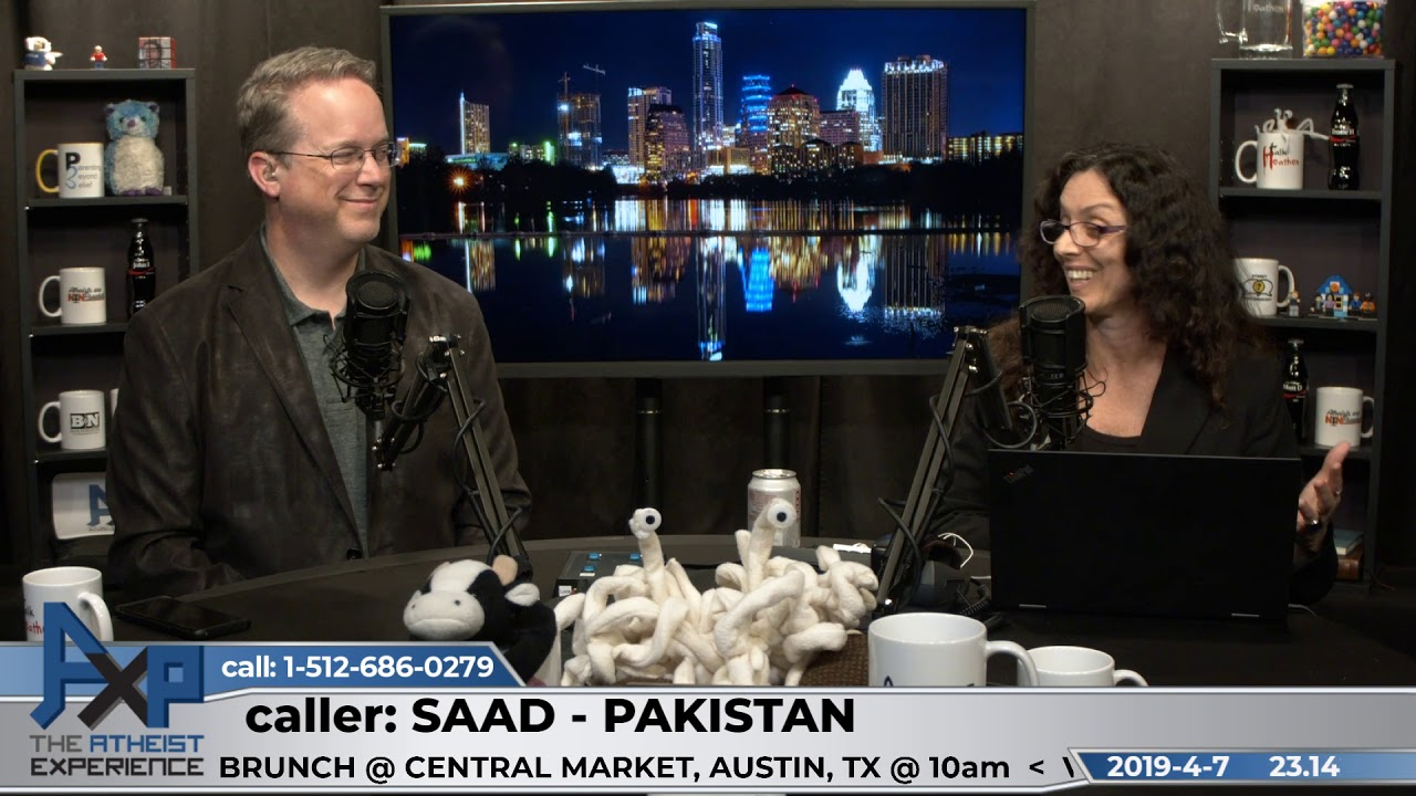 Islam has common ground with Atheism | Saad - Pakistan | Atheist Experience 23.14
