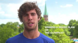 German Open 2017 - Quickfire Quiz mit Karen Khachanov