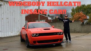 2018 Dodge Challenger SRT Hellcat WideBody Review & Test Drive!!