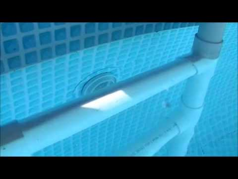 Intex pool and pvc ladder youtube - How to make your own swimming pool heater ...