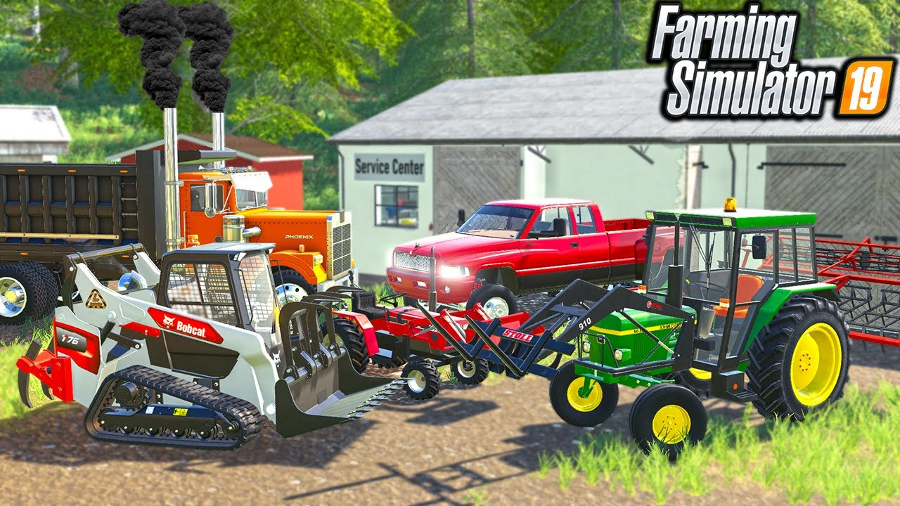 Download LANDSCAPING AN OLD ABANDON RENTAL PROPERTY   (ROLEPLAY) FARMING SIMULATOR 2019