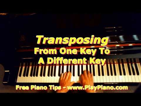 How To Transpose From Key To Key