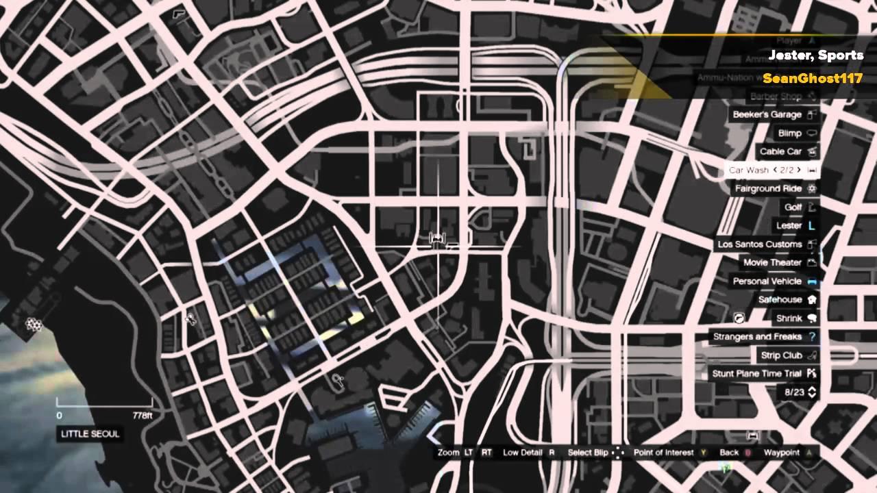 Grand Theft Auto V Story Mode Rare Car Spawn Locations Youtube