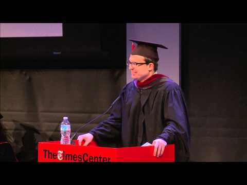 Oliver Morrison - M.A., '14, The CUNY Graduate School of Journalism - Commencement 2014