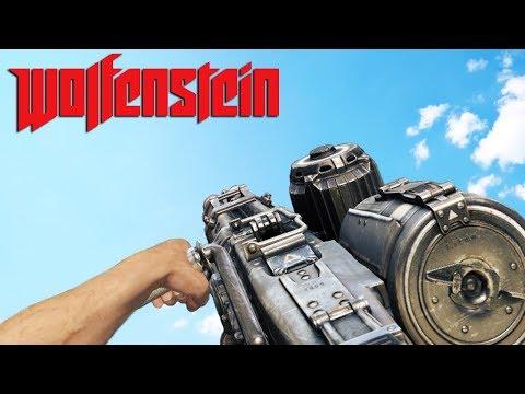 Wolfenstein Old Blood ALL Weapons Showcase