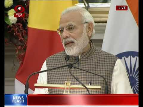 Joint press statement by PM Modi and President of Seychelles at Hyderabad House