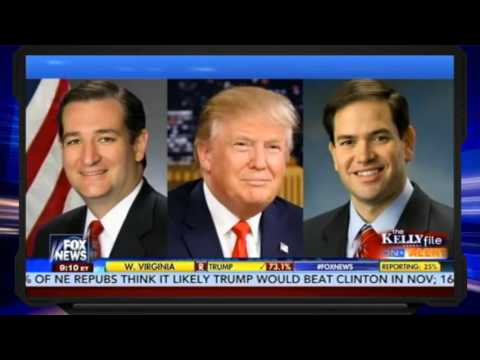 The Kelly File 5/10/16 | Trump Beating Hillary in Ohio, W. Virginia reveals Clinton's weak