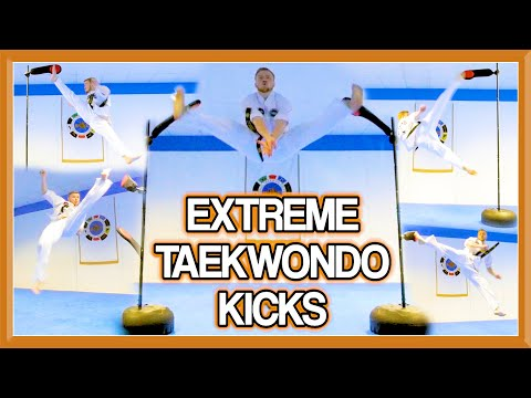 Advanced Martial Arts/Taekwondo Kicks | (Extreme Kicking & Flip Kicks too) | GNT