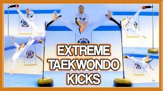Advanced Martial Arts/Taekwondo Kicks | (Extreme Kicking & Flip Kicks too) | GNT