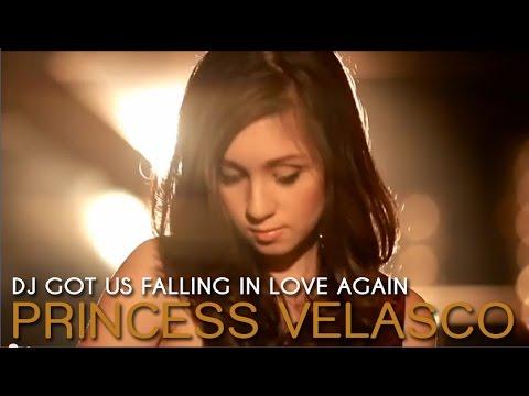 DJ Got Us Falling In Love Again - Princess Velasco (Official Music Video)