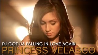 Download DJ Got Us Falling In Love Again - Princess Velasco (Official Music Video)