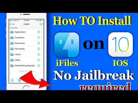 How to Install iFile on iOS 11 (Without Jailbreak No Computer