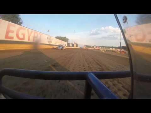 New Egypt speedway 7-23 Chris grbac heat part 1