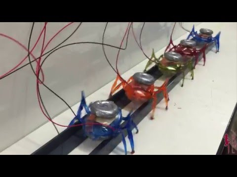 Let's All Pull Together: Team Of µTug Microrobots Pulls A Car