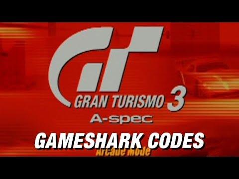 Gran Turismo 3: Gameshark Cheats | Cars for Sale & Easy Championship Win