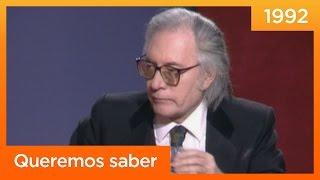 Francisco Umbral: 'He venido a hablar de mi libro' - Queremos saber